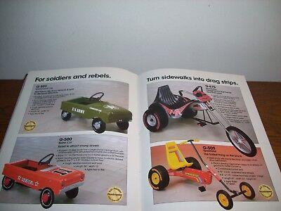1983 Roadmaster Catalog Dukes Of Hazzard Knight Rider Bmx Bicycles  Pedal Cars