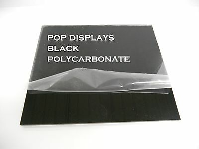 Black Polycarbonate Lexan Sheet 18 X 12 X 12