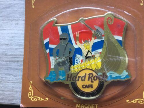 HARD ROCK CAFE ALTERNATIVE MAGNET OSLO