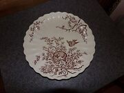 Antique Bird Platter