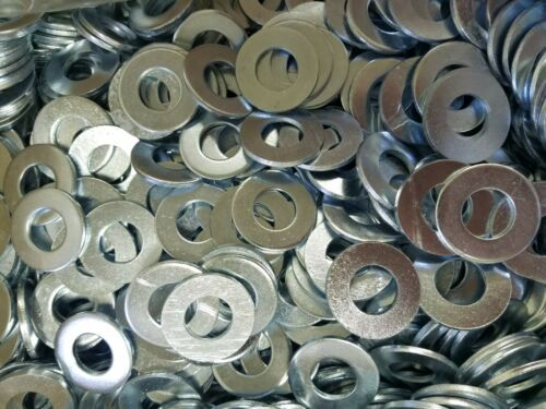 5/8 Bolt Size - SAE Zinc Plated - Flat Washer - 25 PIECE PACKS