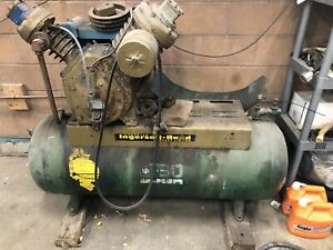 Air compressor ingersoll rand single phase