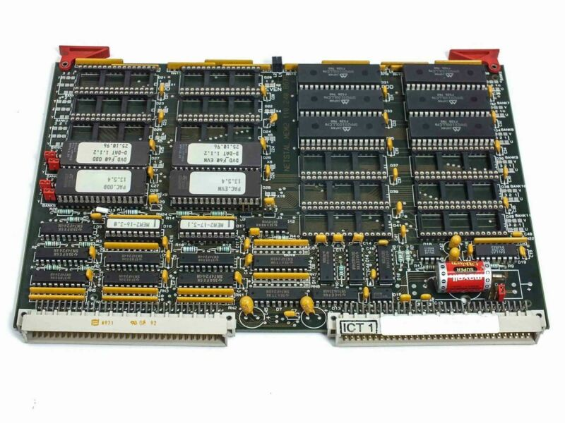 Netstal Sycap Card / Board 100.240.8680 DiskJet Injection Molder 600/110 MEM2