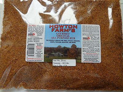 (#1 BBQ Ribs Meat Seasoning Spices and Rub for Grill, Pork. 40 oz Bag No MSG! )