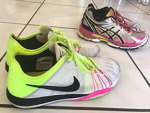 1 x Women's Nikes & 1 x Womens Asics Clifton Beach Cairns City Preview