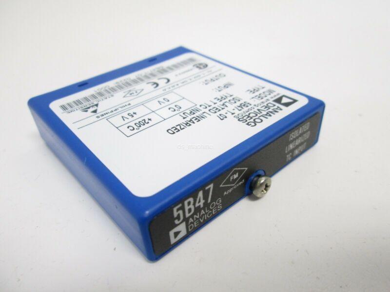 Analog Devices 5B47-T-07 Isolated Linearized Type TC Input, 0C-200C, 0V-5V