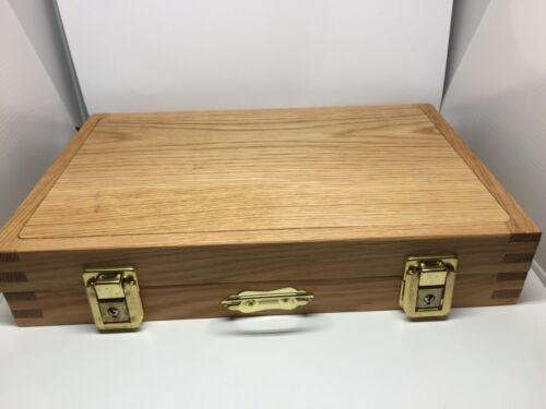 Pathtag  Collectors Briefcase-Oak Upgraded Design