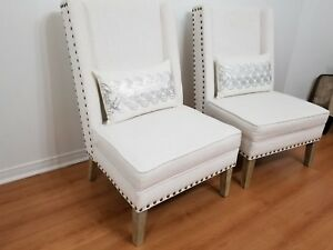Beautiful Wingback Accent Chairs