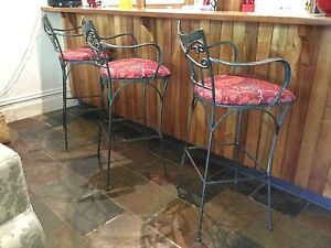Wrought Iron Barstools Ormond Glen Eira Area Preview