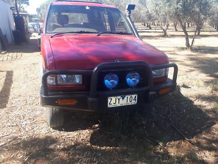 97 Holden jackaroo v6 petrol