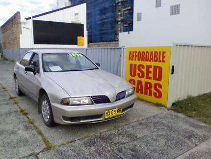 2001 Mitsubishi Magna Sedan 1 Year Roadside Assist Woy Woy Gosford Area Preview