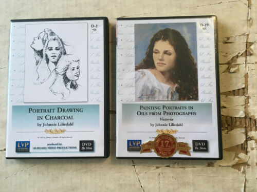 Painting and Drawing DVD lot Johnnie Liliedahl