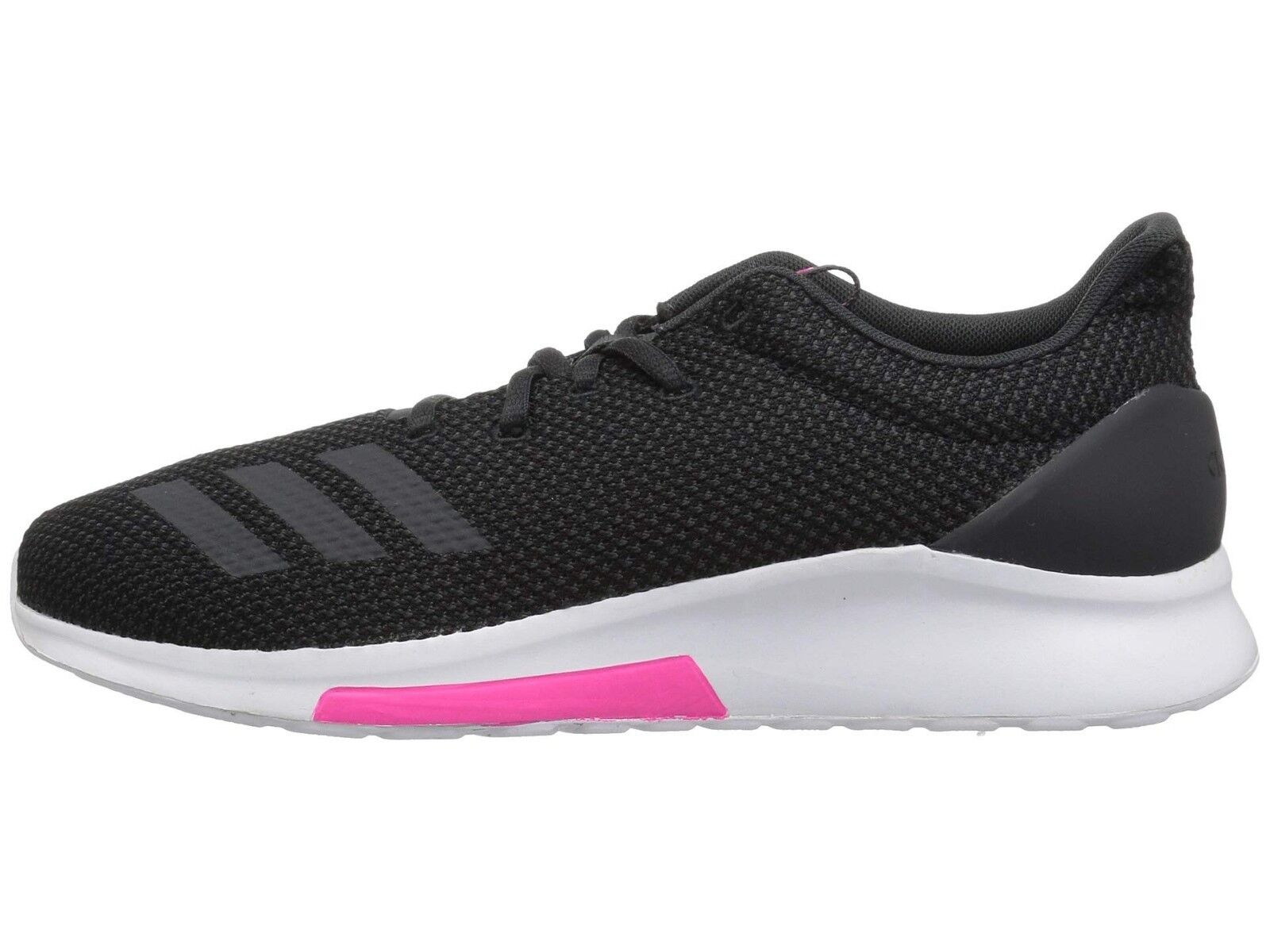 Women Adidas Puremotion Running Shoe B96549 Black/Carbon/Shock Pink Brand New 1