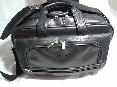 Kenneth Cole Reaction Briefcase Double Gusset Laptop Travel Bag Retail $160
