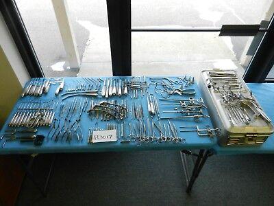 Codman Pilling Storz V. Mueller Surgical Ent Instrument Set W Case