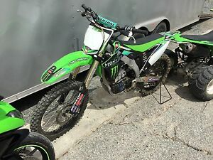 2012kx450f mint one owner low hours