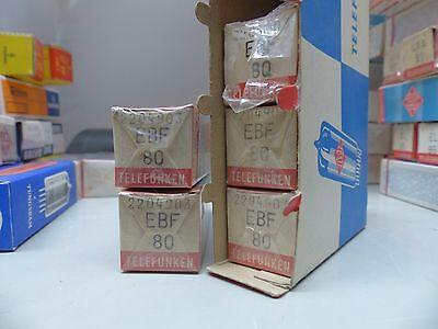 EBF80-Telefunken-RÖHRE-TUBE-sealed -NOS-IN-BOX unused Valvola
