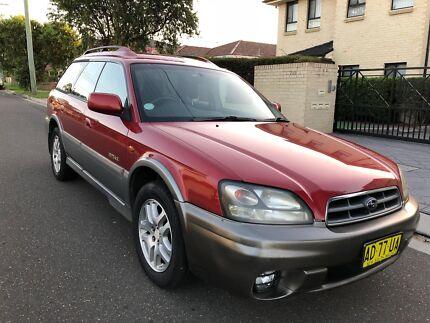 2002 Subaru Outback (AWD) Wagon Auto 5months Rego