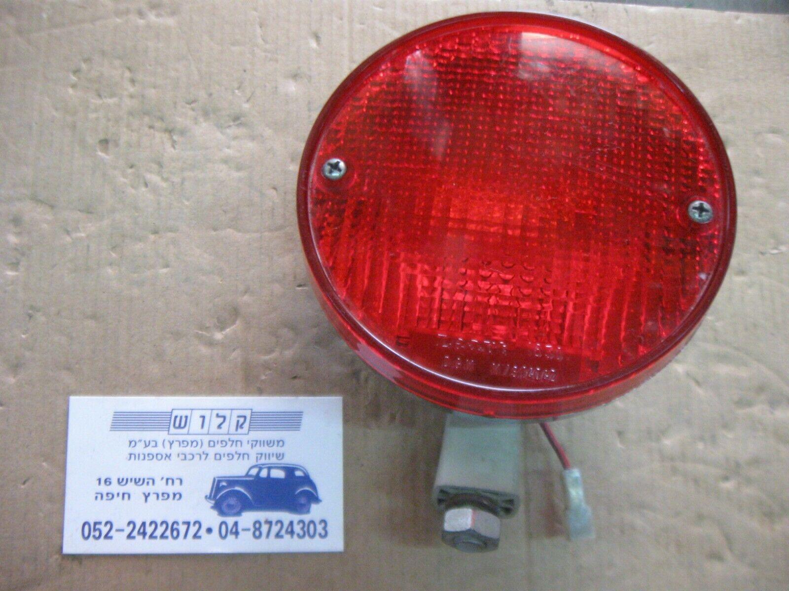"Vintage car Lamp Tail CHROME Stop RED 5"" Diamater Light LEART 1630 DGM M/S14042"