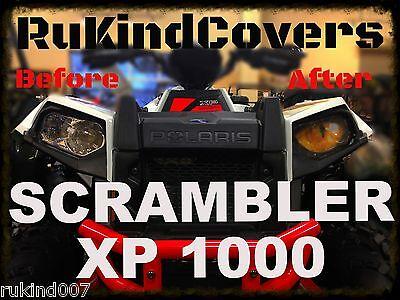 POLARIS ACE / SCRAMBLER YELLOW EYES Polaris RZR 800 HEAD LIGHT COVERS SET