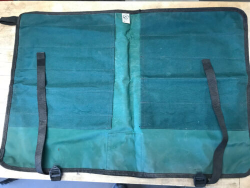 Woodturners Tool Roll by Woodcraft, 11 Tool Capacity Woodturning Wood lathe