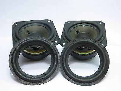 4x Sicken kompatibel für Bang & Olufsen Beovox B&O C30,C40,CX50,C75,CX100+kleber