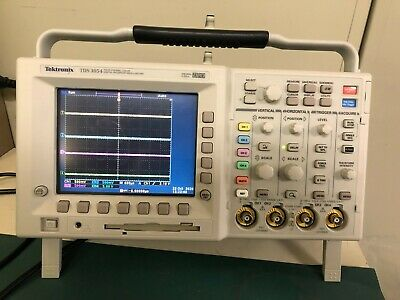 Tektronix Tds3054 4-channel 500 Mhz 5 Gss Fft 3trg Enabled With Probes