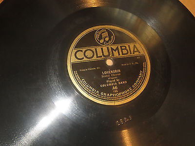 78RPM Columbia A6 Columbia Band, Lohengrin - Bridal / Nibelungen March clean V