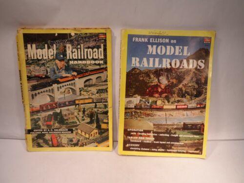 Model Railroad Book By Frank Ellison 1951 & Model Railroad Handbook 1952