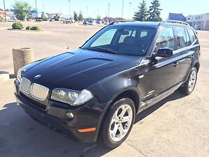 2009 BMW X3 3.0i with one extra set of winter tires