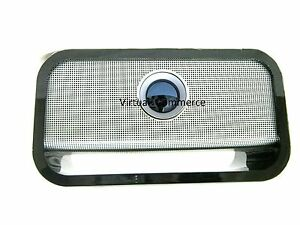 Brookstone Big Blue Table Top Studio Wireless Bluetooth 30 WATT Speaker