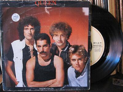 """Queen – Radio Ga Ga 7"""" Single 1983 Spain segunda mano  Ribeira"""