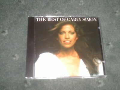 CARLY SIMON THE BEST OF CD-YOU'RE SO VAIN/WHY/HAVEN'T GOT TIME FOR THE