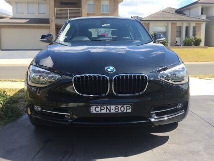2013 BMW, 118i Black, Sports, Automatic, Hatchback Blacktown Blacktown Area Preview