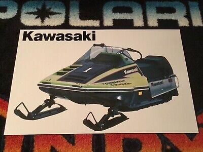 07-287-10 Gas Tank Cap~1979 Kawasaki Invader 440 Snowmobile Sports Parts Inc