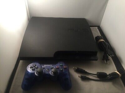 Sony PlayStation 3 320 GB Slim Launch Edition Console PS3 (CECH-3001B) + TESTED