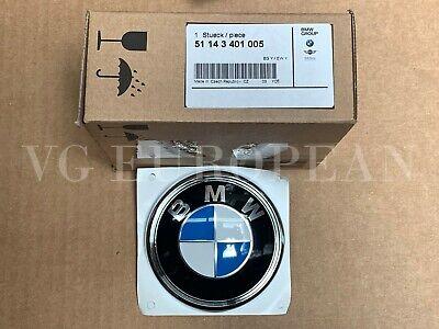 BMW Genuine E83 X3 Rear Trunk Hatch BMW Emblem Decal Badge NEW