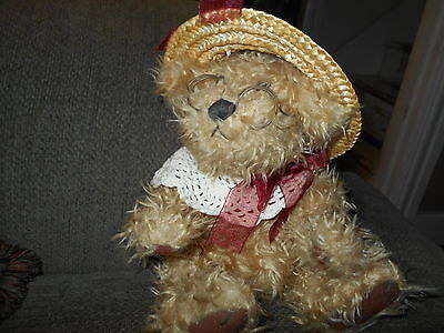 """Pickford Bears/Brass Button Collection Rosie-Bear of Joy 12""""Classic Jointed Bear"""