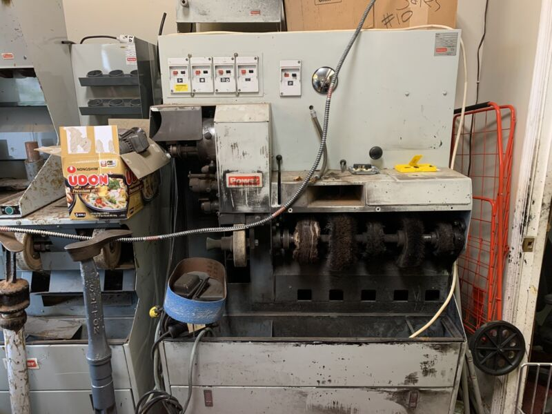 Complete shoe repair machinery and equipment