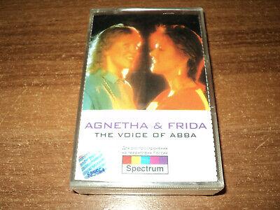 AGNETHA & FRIDA - The Voice Of ABBA (new cassette)