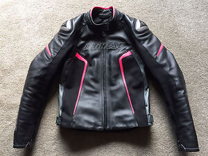 DAINESE RACING D1 LADIES LEATHER JACKET