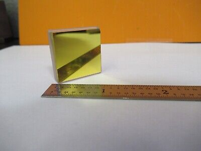 Optical Infrared Gold Plated Mirror Nice Optics As Pictured 85-b-100
