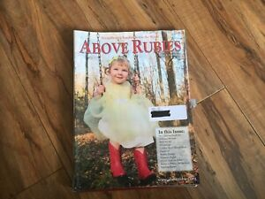 Above Rubies magazines