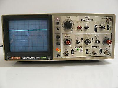 Hitachi V-212 20 Mhz Oscilloscope