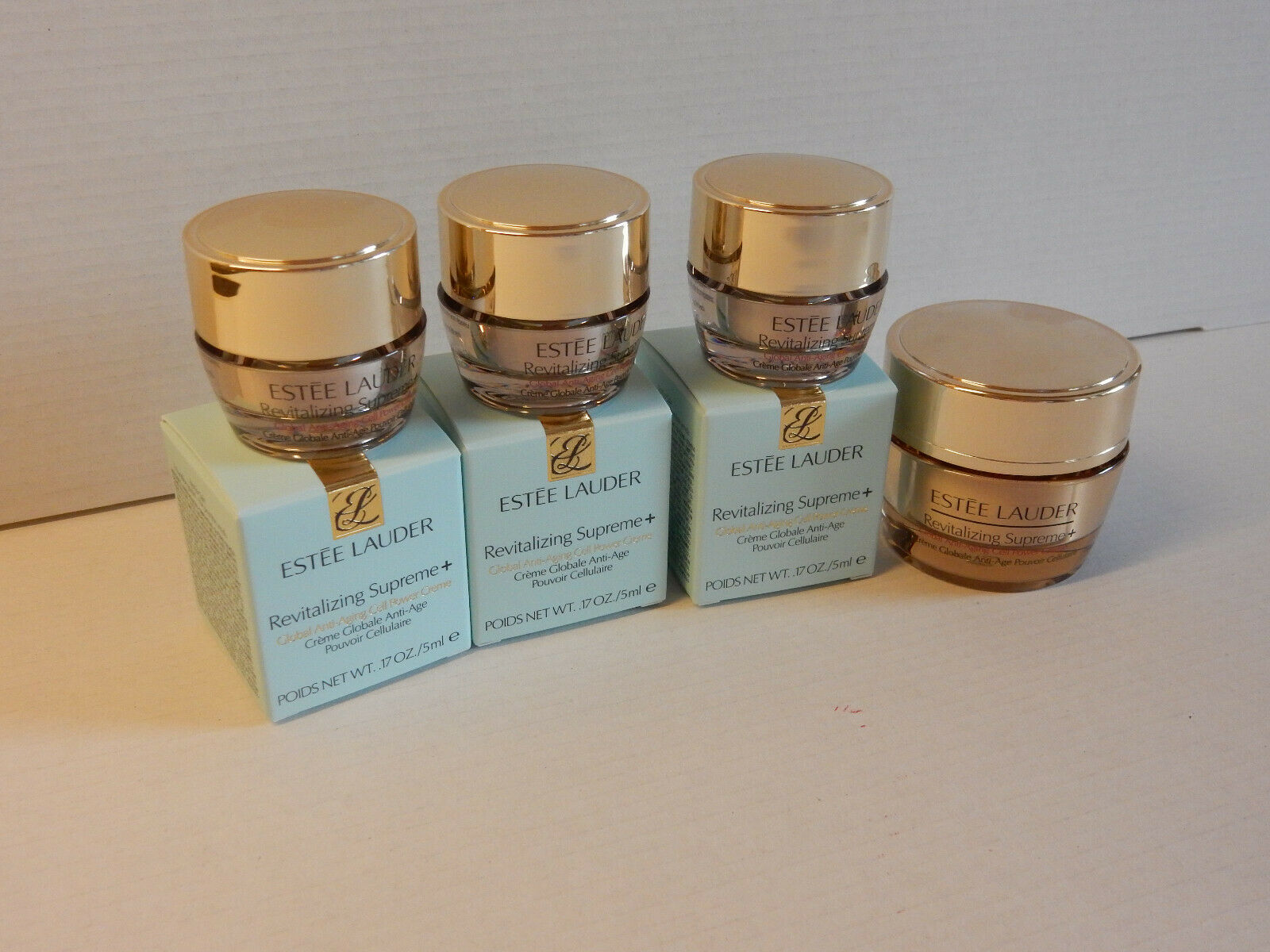 Estée Lauder Supreme+ Global Anti-Aging Creme 15 ml + 3 x 5 ml (30ml)