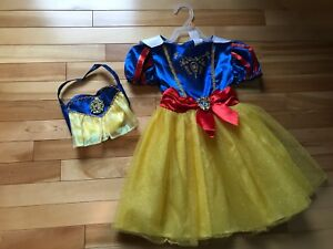 Snow White Dress & purse (size 3-4T)