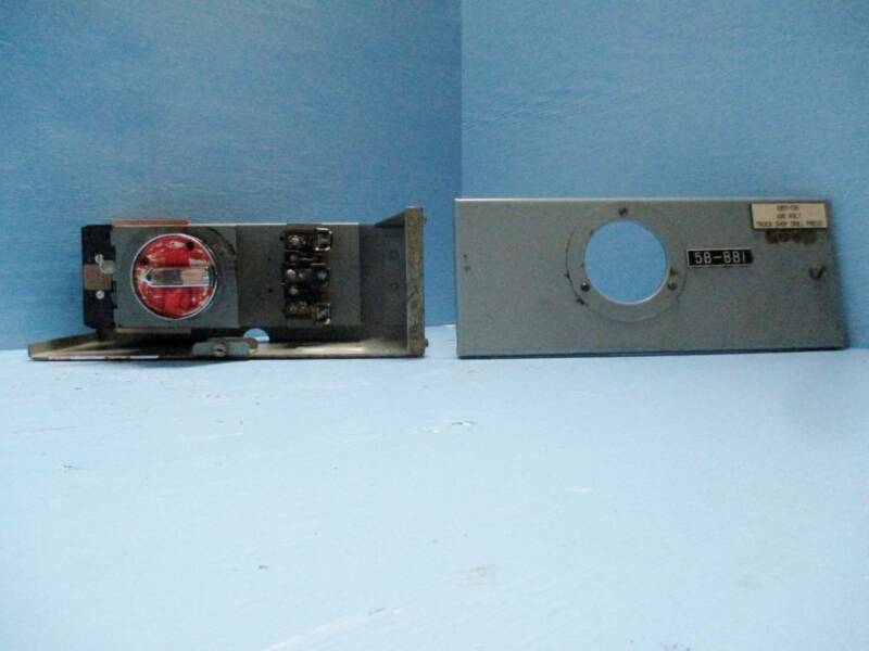 """General Electric GE 7700 Series 30 Amp 6"""" Fused Feeder Disconnect MCC Bucket 30A"""