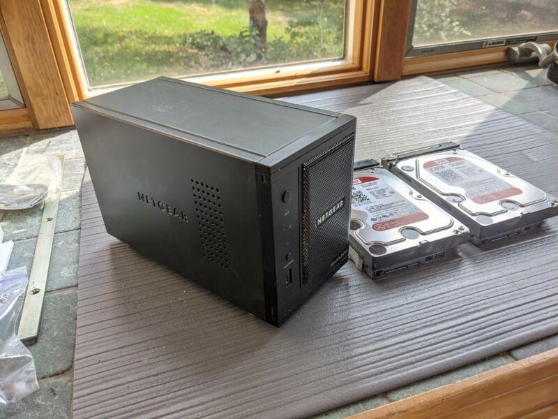 ReadyNAS Pro 2 System RNDP2000 4 TB (2 x 2 TB) HDD