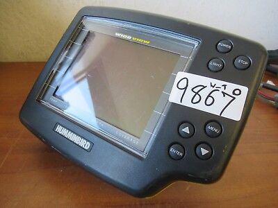 Humminbird Wide-View Portable Fish Finder Sonar Device *Monitor Only* #9867 O