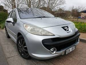2007 Peugeot 207 XT Auto 5 Door Hatch Mile End West Torrens Area Preview